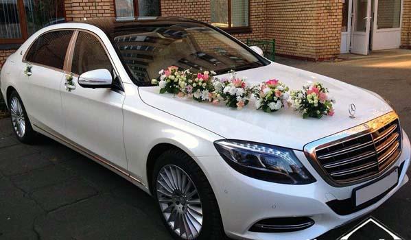 Мерседес-Майбах на свадьбе